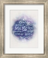 Starlight Astology Cancer Fine-Art Print