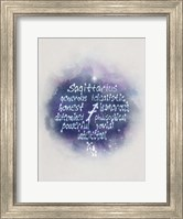 Starlight Astology Sagitarius Fine-Art Print