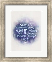Starlight Astology Scorpio Fine-Art Print
