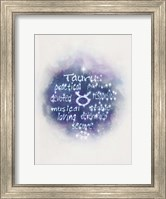 Starlight Astology Taurus Fine-Art Print