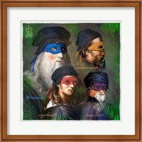 The Original Heros Fine-Art Print