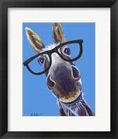 Donkey Snickers Glasses Fine-Art Print
